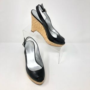 Banana Republic | Wedge Platform Sandal 7.5